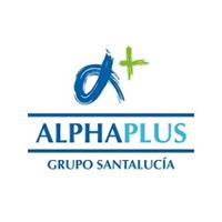 Logo Alphaplus grup SantaLucía